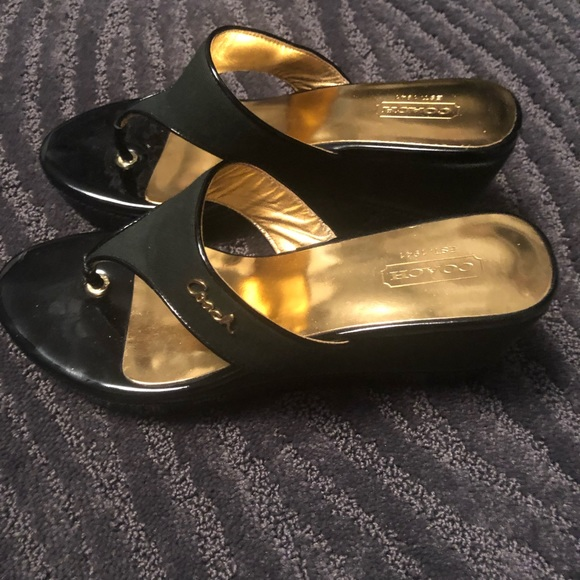 Coach Shoes - Coach Felecia Wedge Sandals